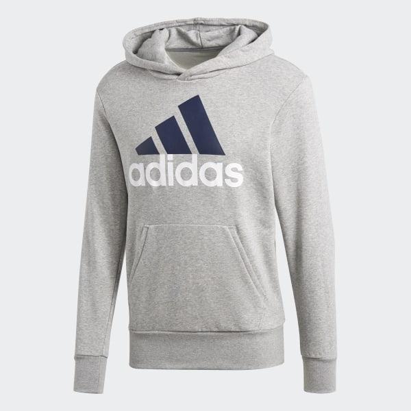 adidas Essentials Linear Hoodie Grau | adidas Deutschland