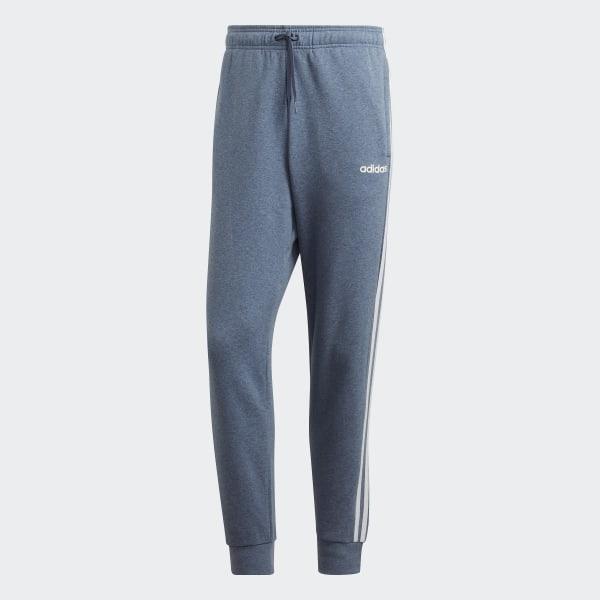 adidas Essentials 3-Stripes Tapered Cuffed Broek - Blauw | adidas Officiële  Shop