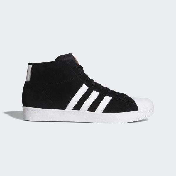 adidas pro model black and white
