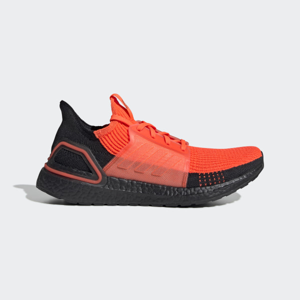adidas Ultra Boost 2.0 Core Black Solar Red in 2020 | Ultra