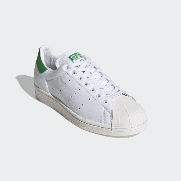 Superstar Schoenen Cloud White / Cloud White / Green FW9328
