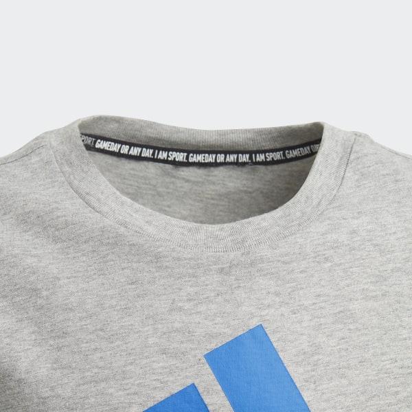 adidas Must Haves Badge of Sport T Shirt Grey   adidas UK