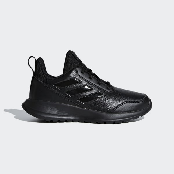 Buy Adidas Black Leather Solid Running Shoes For Men online
