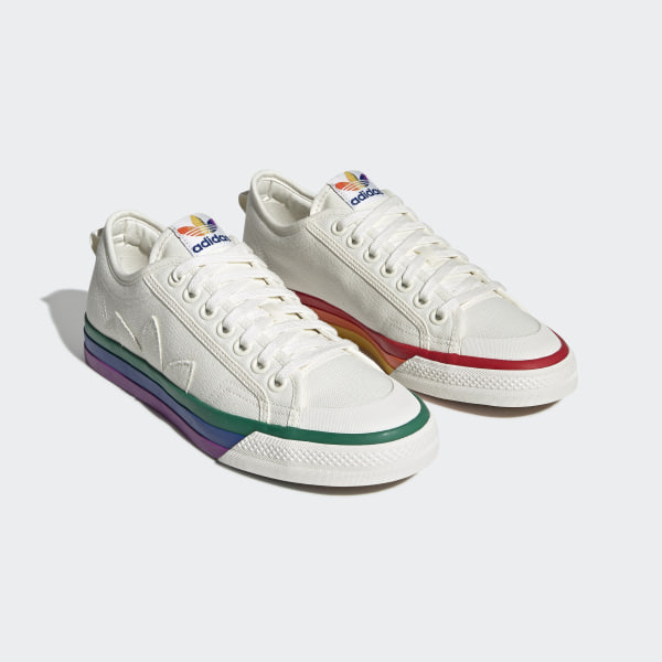 Chaussure Nizza Pride - Blanc adidas | adidas France