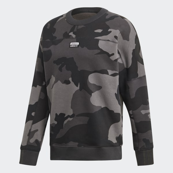 Sweatshirt Adidas Originals Camouflage Crewneck multicolor