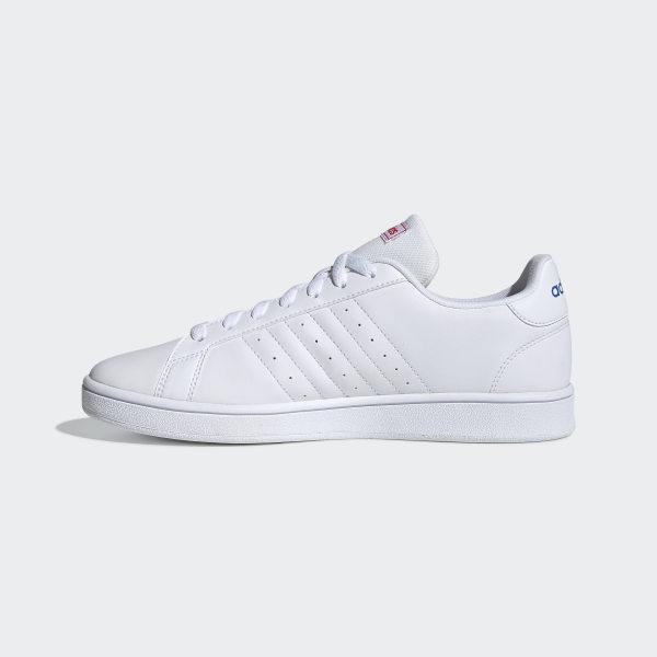 bueno real mejor valorado Códigos promocionales adidas Zapatillas Grand Court Base Blanco | adidas Argentina