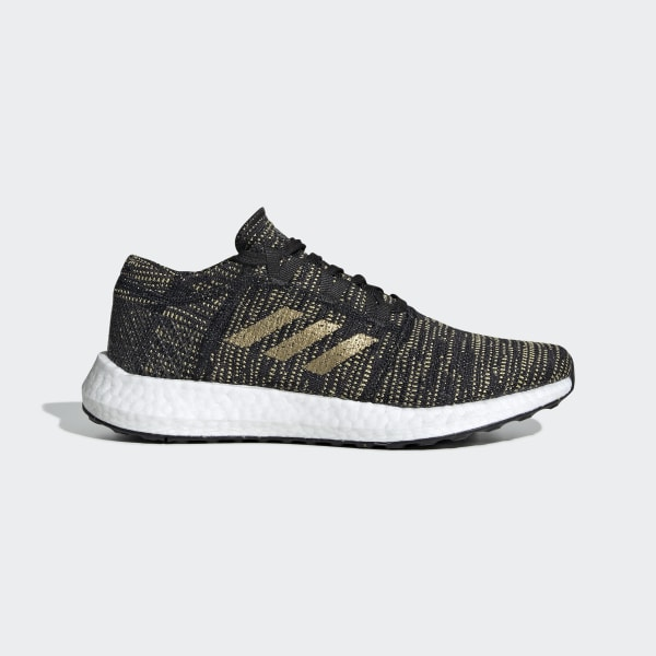 adidas ultra boost runningschuh core black herren