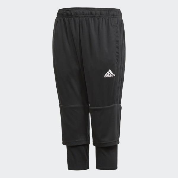 Tiro 17 Three-Quarter Pants Black AY2881