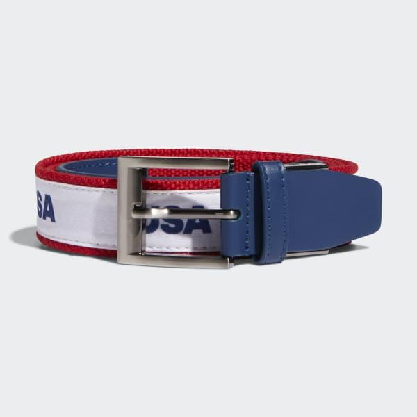 Woven Web Belt Blue DN4239