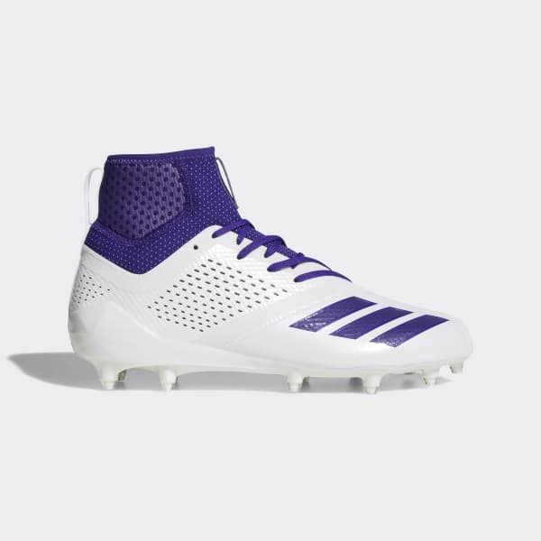 adizero 5-Star 7.0 Mid Cleats White DA9567