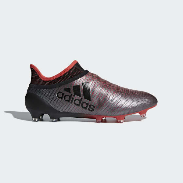 X 17+ Purespeed Firm Ground Cleats Grey DB1399