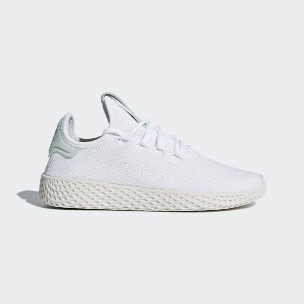 Pharrell Williams Tennis Hu Shoes White CQ2303