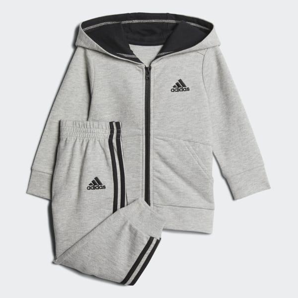 Athletic Linear Jacket Set Grey CJ2697