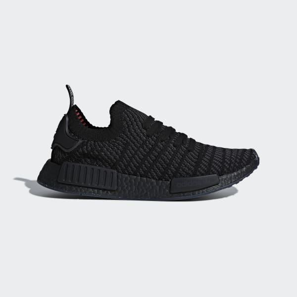 NMD_R1 STLT Primeknit Shoes Black CQ2391