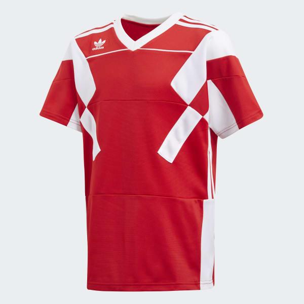 Soccer Tee Red CD8040