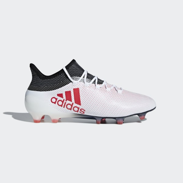 X 17.1 Firm Ground Cleats White CP9161