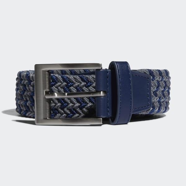 Braided Stretch Belt Blue CY9101