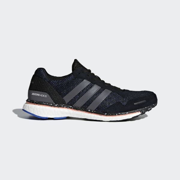 adizero Adios 3 Shoes Black BB6407