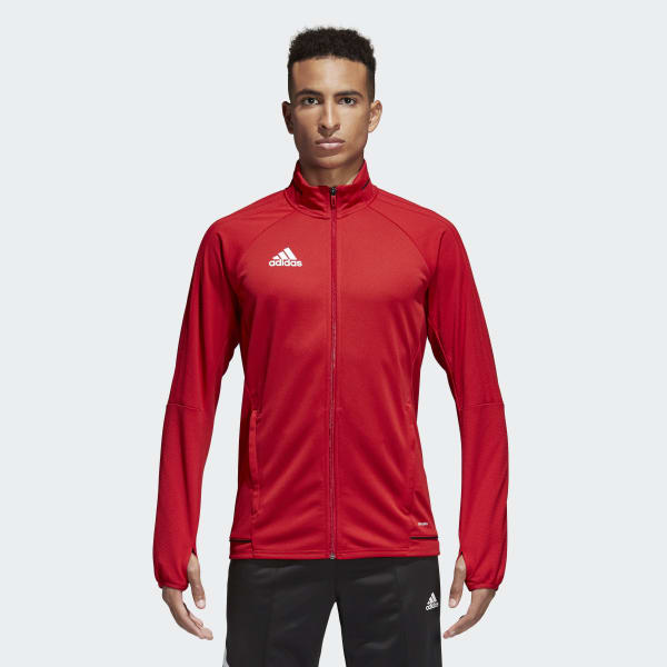 Tiro 17 Training Jacket Red BQ8196