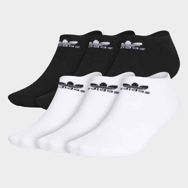 Trefoil No-Show Socks 6 Pairs Multicolor BH6435