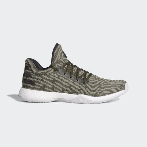 Harden Vol. 1 LS Primeknit Shoes Green AH2113