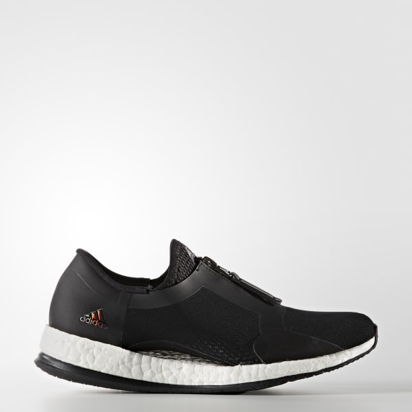 Pure Boost X Trainer Zip Shoes Black BB1579