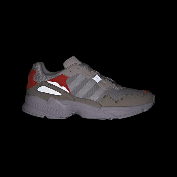 5ec68d683a adidas Yung-96 Shoes - Brown   adidas UK