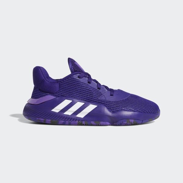 3623fa1b3a adidas Pro Bounce 2019 Low Shoes - Purple | adidas US