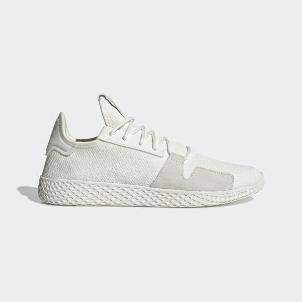 on sale 0e0c8 a7326 Pharrell Williams Tennis Hu V2 Shoes Off White   Off White   Core Black  DB3327