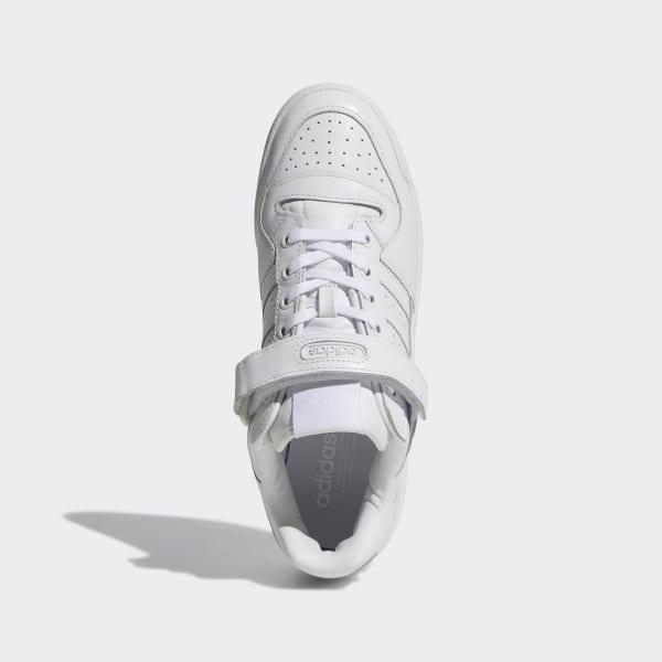 huge selection of f0bbb 329e5 Forum Low Shoes Cloud White   Cloud White   Core Black BA7276