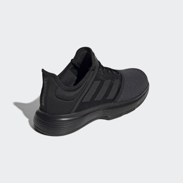 adidas Gamecourt M, Zapatillas de Tenis para Hombre, Negro