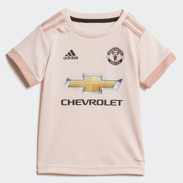 info for e4cf3 34762 adidas Manchester United Away Infant Kit - Pink | adidas UK