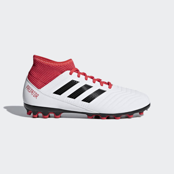 14a722d77ae1 Predator 18.3 Artificial Grass Boots Ftwr White / Core Black / Real Coral  CP9020