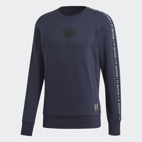 adidas FC Bayern München Seasonal Special Sweatshirt Blau | adidas Deutschland