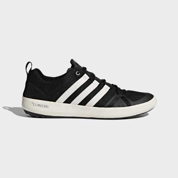low priced 656ad bf30f adidas TERREX Climacool Boat Shoes - Black | adidas UK