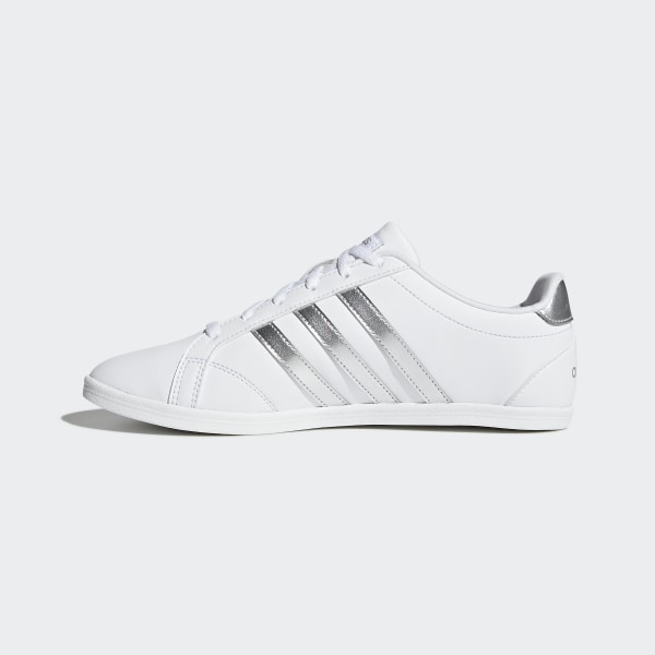 Adidas VS CONEO QT W Damen Schuhe Weiß Tennis Sneaker Training Freizeit Sport