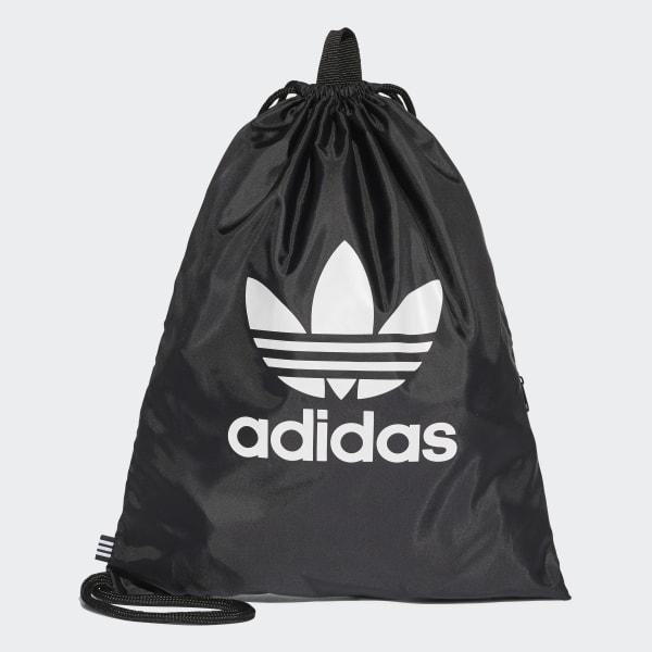 b301523547d237 adidas Trefoil Gym Sack - Black | adidas UK