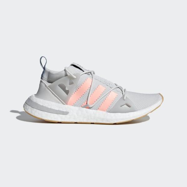 huge discount ba1a7 789a3 Arkyn Shoes Grey One   Clear Orange   Grey Two B37071
