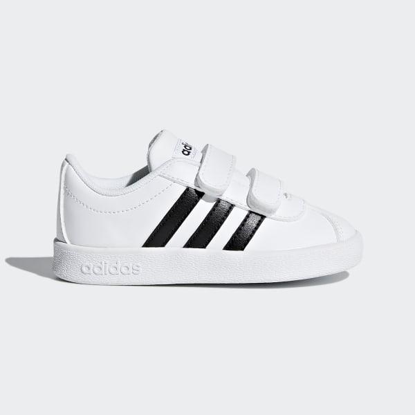 size 40 7fed4 64393 VL Court 2.0 Shoes Ftwr White   Core Black   Ftwr White DB1839