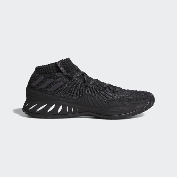 cheap for discount c570d 7a6ee Crazy Explosive 2017 Primeknit Low Shoes Core Black Grey Four Carbon AC8805
