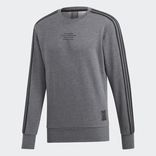 the best attitude ddabf 0e662 adidas Real Madrid Seasonal Special Crew Sweatshirt - Grey | adidas UK
