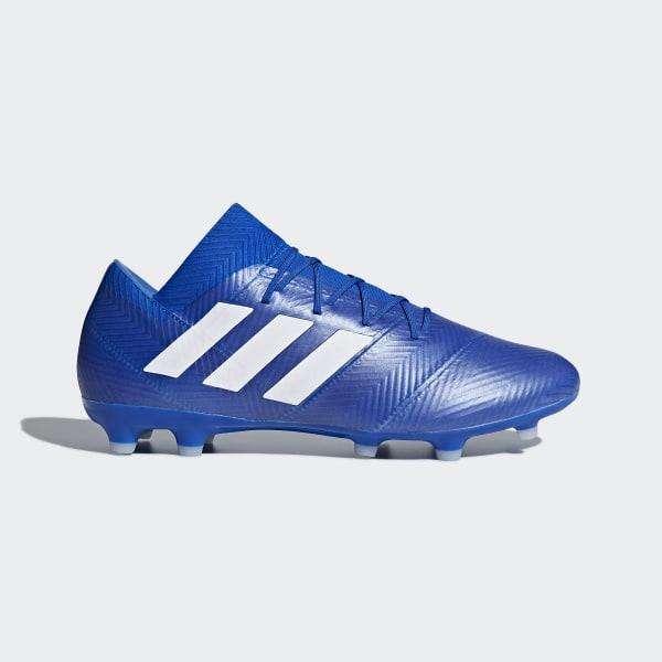 3edbf4bccd Nemeziz 18.2 Firm Ground Boots Football Blue   Ftwr White   Football Blue  DB2092