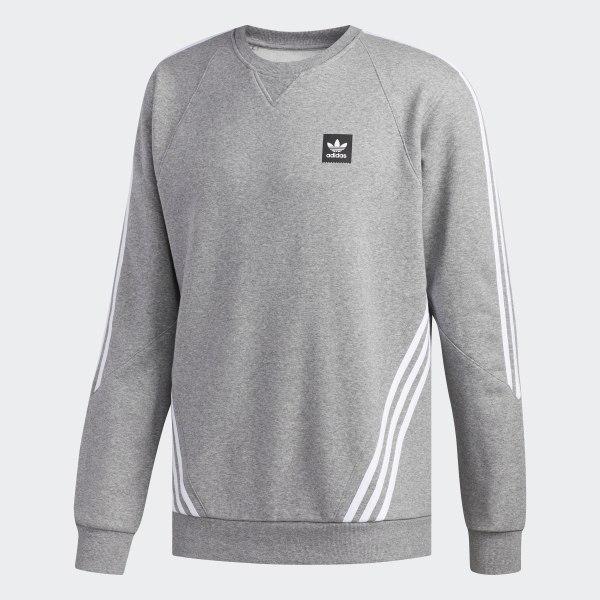 8dd2d24eb83 Insley Crewneck Sweatshirt Core Heather   White DU8377