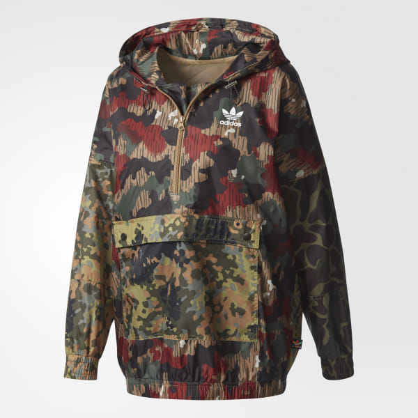 f20156e433df9 adidas Women's Pharrell Williams Hu Hiking Camo Windbreaker - Multicolor |  adidas Canada