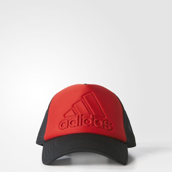 97c5a088f9 Boné Trucker - Vermelho adidas | adidas Brasil