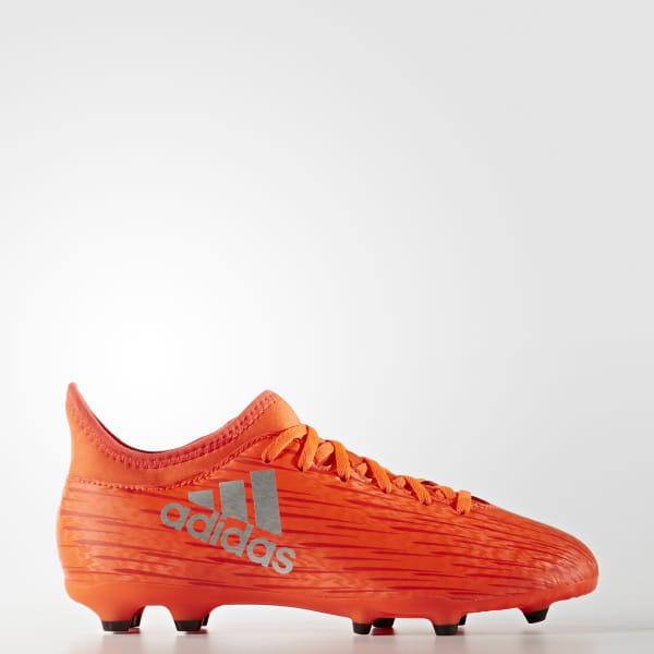 san francisco 96091 e48d3 adidas X 16.3 Firm Ground Boots - Orange | adidas New Zealand