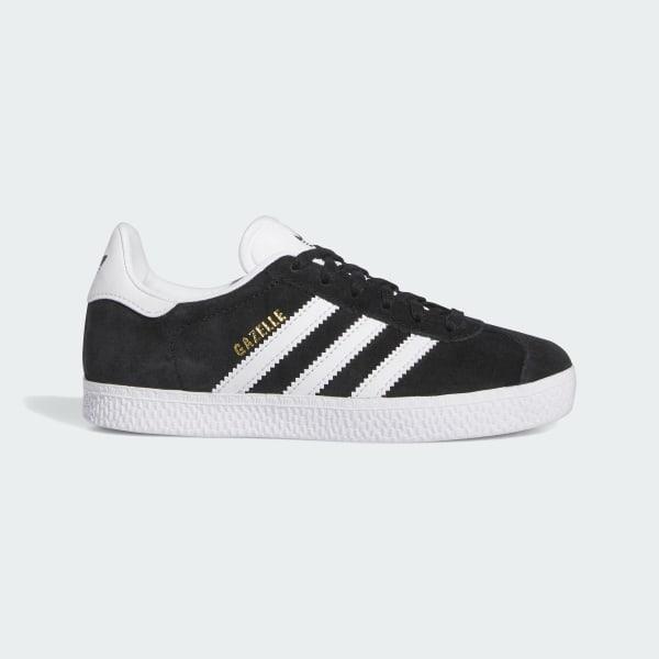 quality design d5a54 8435d Gazelle Shoes Core Black   Cloud White   Gold Metallic BB2507