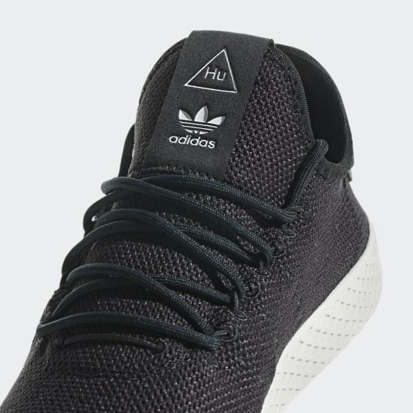 8ca7bc0ba1 Pharrell Williams Tennis Hu Shoes Core Black / Core Black / Chalk White  AQ1056