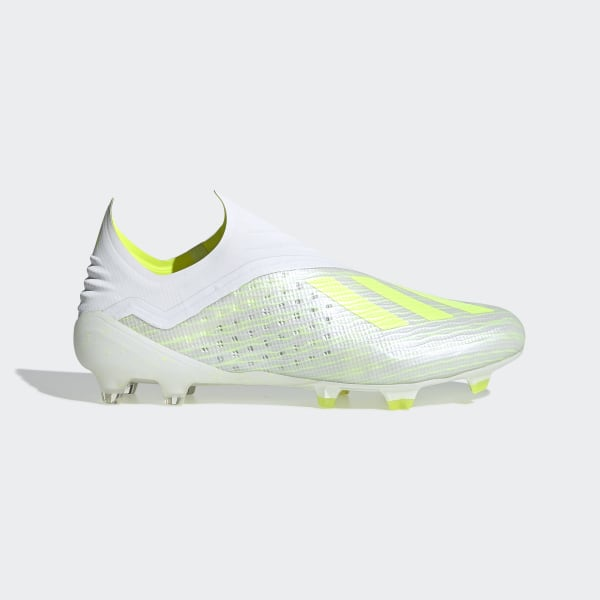 3af1e3d5f adidas X 18+ Firm Ground Cleats - White | adidas Canada
