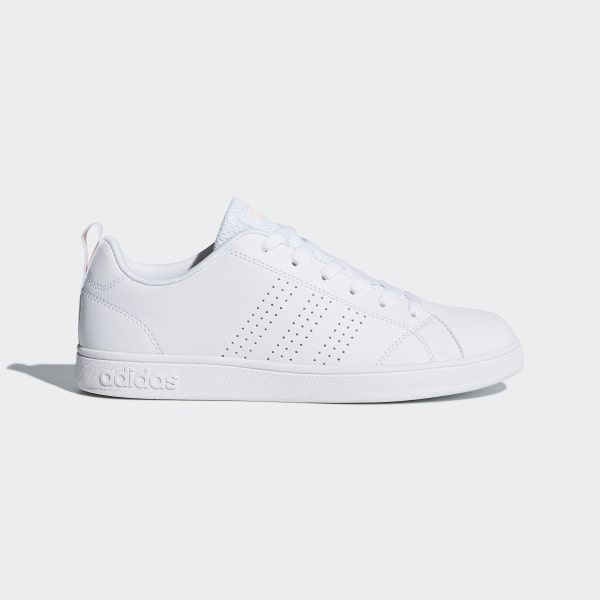 chaussures adidas neo vs advantage clean blanc